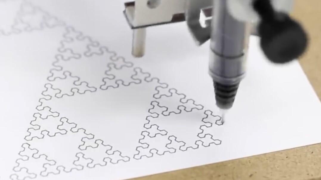 Maszyna do pisania XXI wieku. Rysuje i pisze wybraną czcionką