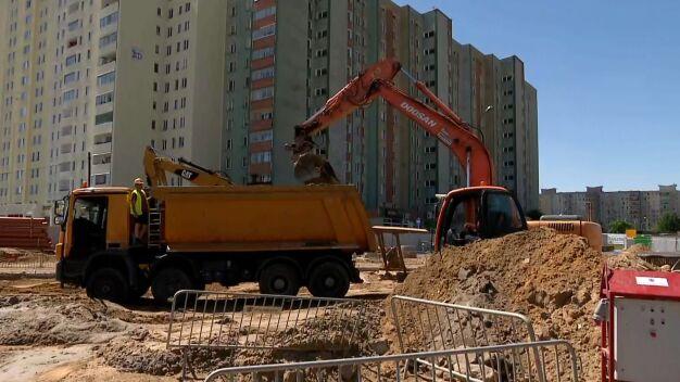 Głośna budowa metra na Bródno. Na placu 500 pracowników