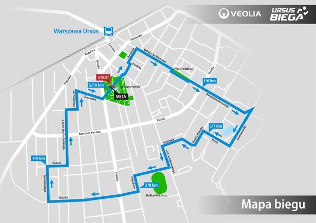 Veolia Ursus Biega Urząd miasta Warszawy