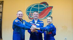 Misja Soyuz TMA-14M dotarła na orbitę Ziemi