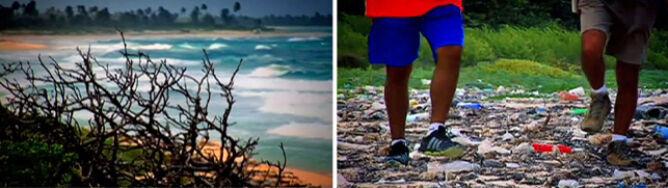 Śmieci z całego świata morze wyrzuca w Meksyku
