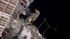 ISS ma nową antenę. Jej montaż przedłużył się o niemal godzinę