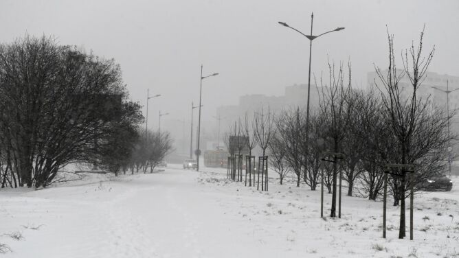 Pogoda na dziś: chmury, śnieg i mróz
