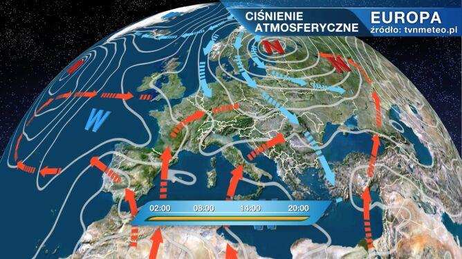 Do Polski napływa chłodne i wilgotne powietrze