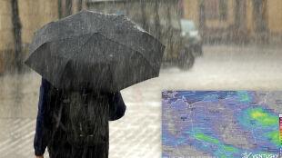 Pogoda zmienna jak w kalejdoskopie. Deszcz, słońce i znowu opady